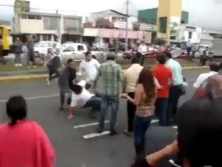 Поучительная драка в Аргентине